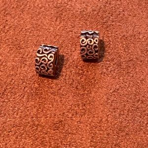 Pandora clip charms